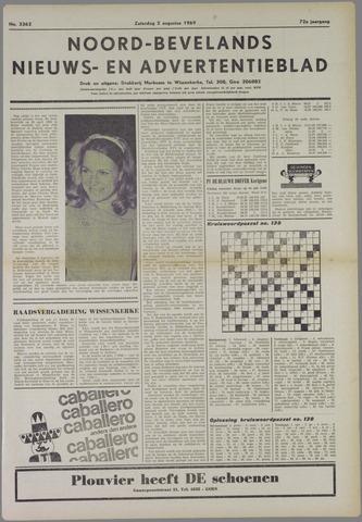 Noord-Bevelands Nieuws- en advertentieblad 1969-08-02