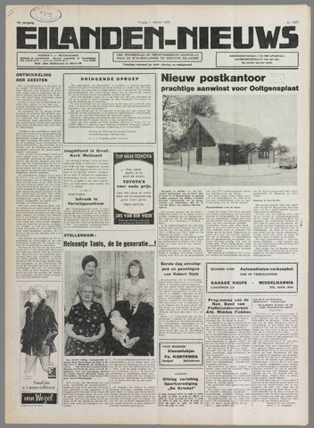 Eilanden-nieuws. Christelijk streekblad op gereformeerde grondslag 1976-10-01