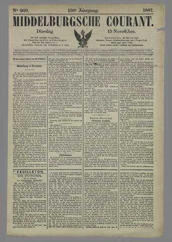Middelburgsche Courant 1887-11-15