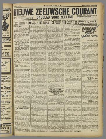 Nieuwe Zeeuwsche Courant 1923-03-26