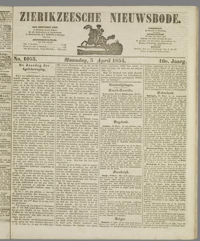 Zierikzeesche Nieuwsbode 1854-04-03