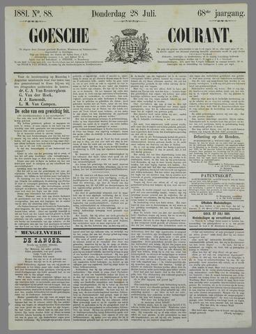 Goessche Courant 1881-07-28
