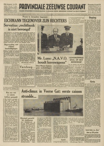 Provinciale Zeeuwse Courant 1961-04-12