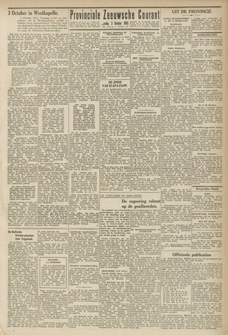 Provinciale Zeeuwse Courant 1945-10-03