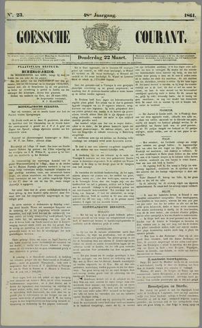 Goessche Courant 1861-03-22