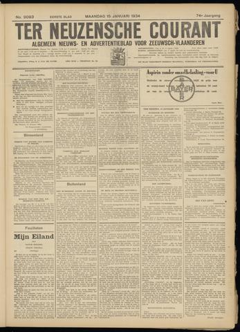 Ter Neuzensche Courant. Algemeen Nieuws- en Advertentieblad voor Zeeuwsch-Vlaanderen / Neuzensche Courant ... (idem) / (Algemeen) nieuws en advertentieblad voor Zeeuwsch-Vlaanderen 1934-01-15