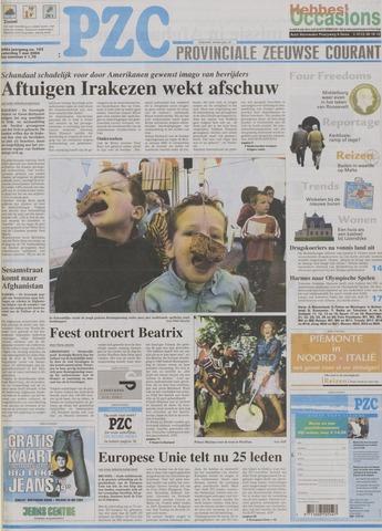 Provinciale Zeeuwse Courant 2004-05-01