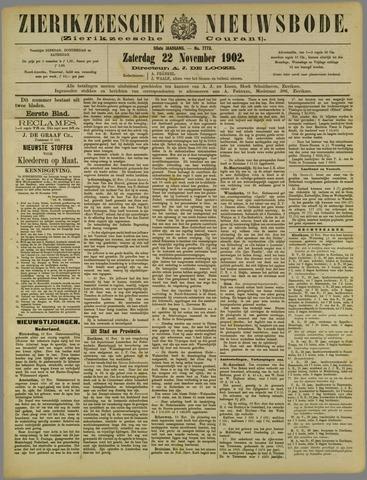 Zierikzeesche Nieuwsbode 1902-11-22