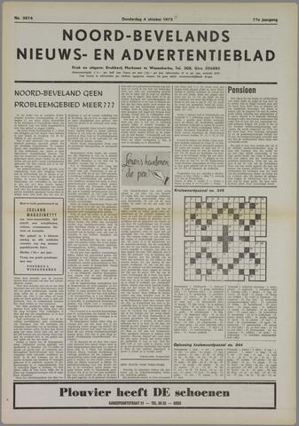 Noord-Bevelands Nieuws- en advertentieblad 1973-10-04