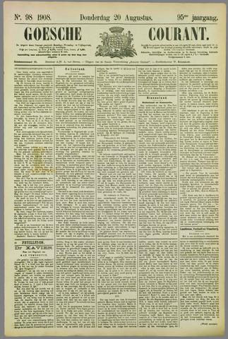 Goessche Courant 1908-08-20