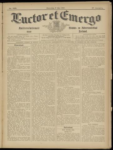 Luctor et Emergo. Antirevolutionair nieuws- en advertentieblad voor Zeeland / Zeeuwsch-Vlaanderen. Orgaan ter verspreiding van de christelijke beginselen in Zeeuwsch-Vlaanderen 1917-05-05