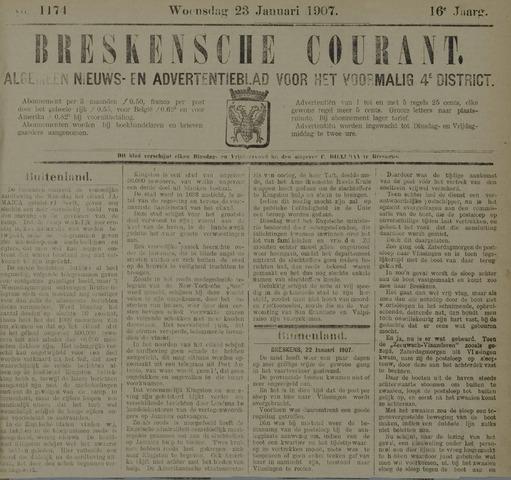 Breskensche Courant 1907-01-23