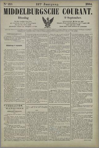 Middelburgsche Courant 1884-09-09
