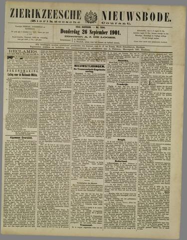 Zierikzeesche Nieuwsbode 1901-09-26