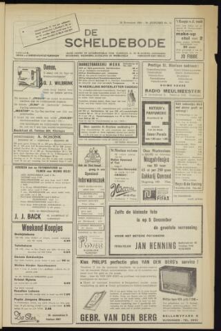 Scheldebode 1954-11-26