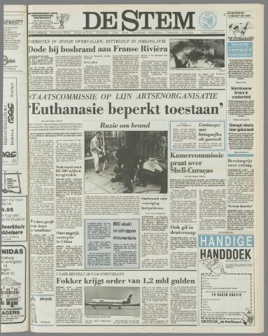 de Stem 1985-08-01