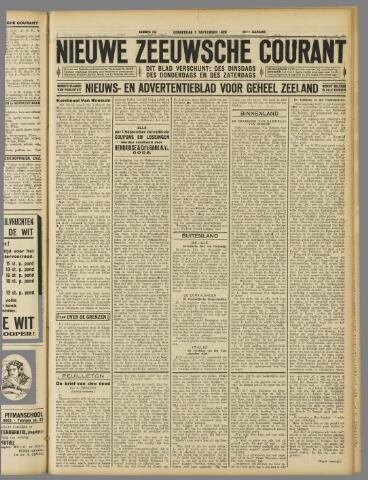 Nieuwe Zeeuwsche Courant 1929-09-05
