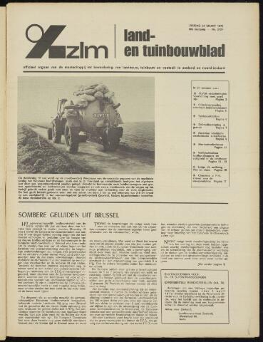 Zeeuwsch landbouwblad ... ZLM land- en tuinbouwblad 1972-03-24