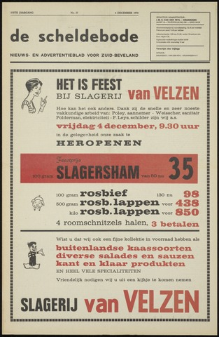 Scheldebode 1970-12-04