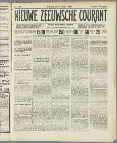 Nieuwe Zeeuwsche Courant 1913-12-30