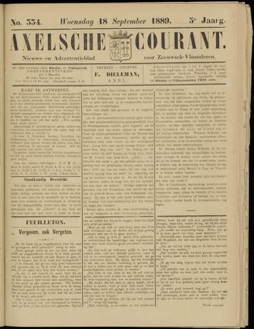 Axelsche Courant 1889-09-18