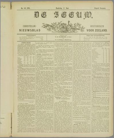 De Zeeuw. Christelijk-historisch nieuwsblad voor Zeeland 1895-06-06