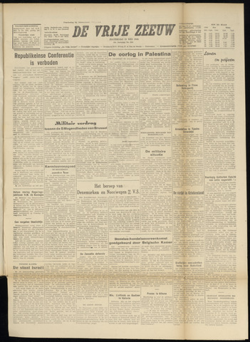 de Vrije Zeeuw 1948-05-22