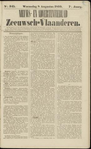Ter Neuzensche Courant. Algemeen Nieuws- en Advertentieblad voor Zeeuwsch-Vlaanderen / Neuzensche Courant ... (idem) / (Algemeen) nieuws en advertentieblad voor Zeeuwsch-Vlaanderen 1860-08-08