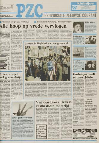 Provinciale Zeeuwse Courant 1991-01-16