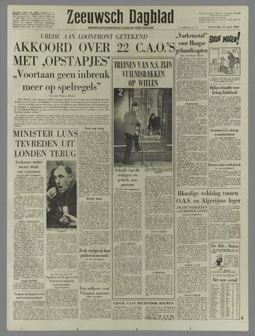 Zeeuwsch Dagblad 1962-04-12