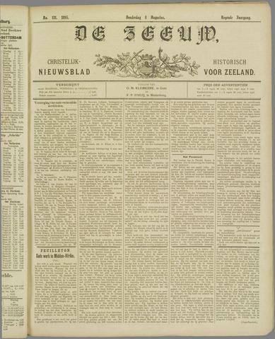 De Zeeuw. Christelijk-historisch nieuwsblad voor Zeeland 1895-08-08