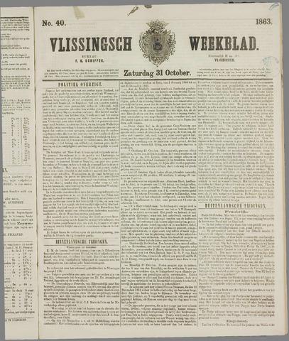 Vlissings Weekblad 1863-10-31