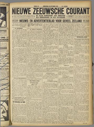 Nieuwe Zeeuwsche Courant 1923-09-20