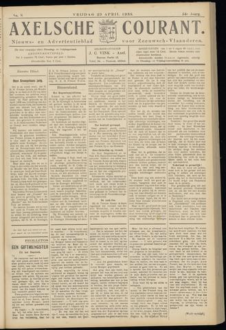 Axelsche Courant 1938-04-29