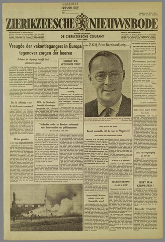 Zierikzeesche Nieuwsbode 1959-06-26