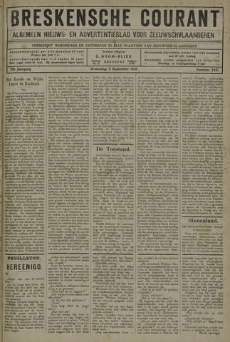Breskensche Courant 1919-09-03