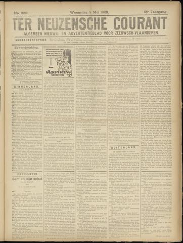Ter Neuzensche Courant. Algemeen Nieuws- en Advertentieblad voor Zeeuwsch-Vlaanderen / Neuzensche Courant ... (idem) / (Algemeen) nieuws en advertentieblad voor Zeeuwsch-Vlaanderen 1928-05-09