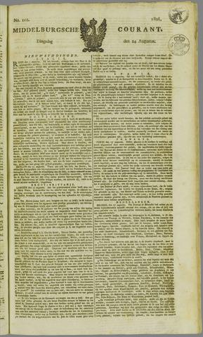 Middelburgsche Courant 1824-08-24
