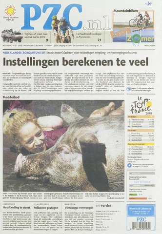 Provinciale Zeeuwse Courant 2010-07-19