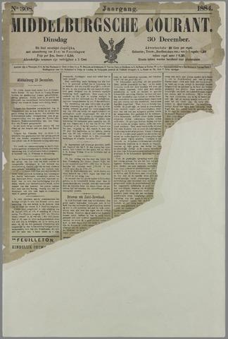 Middelburgsche Courant 1884-12-30