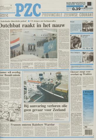 Provinciale Zeeuwse Courant 1995-07-10