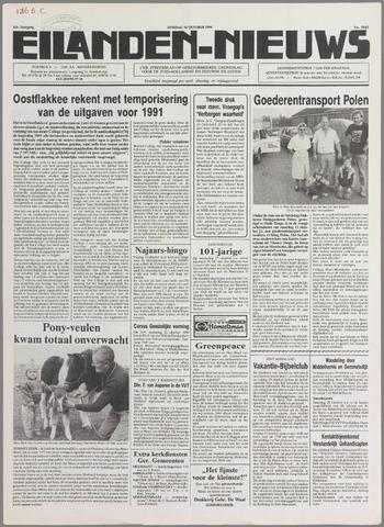 Eilanden-nieuws. Christelijk streekblad op gereformeerde grondslag 1990-10-16