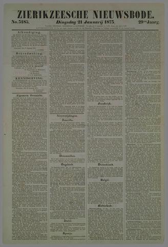 Zierikzeesche Nieuwsbode 1873-01-21