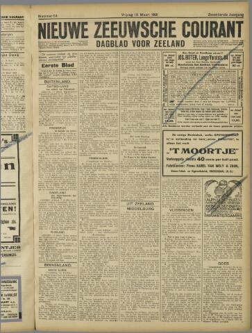 Nieuwe Zeeuwsche Courant 1921-03-18