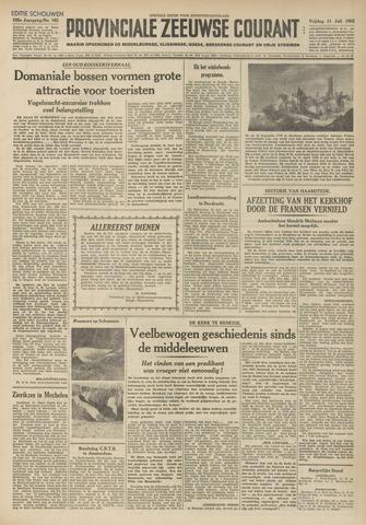 Provinciale Zeeuwse Courant 1952-07-11