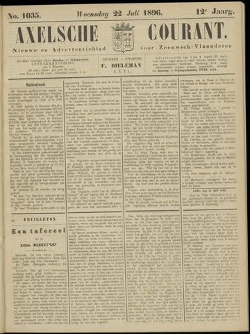 Axelsche Courant 1896-07-22