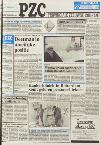 Provinciale Zeeuwse Courant 1987-12-16