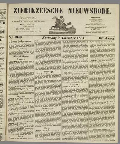 Zierikzeesche Nieuwsbode 1861-11-09
