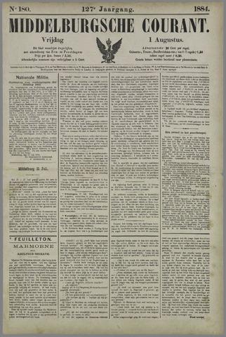 Middelburgsche Courant 1884-08-01