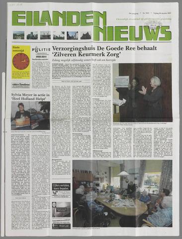 Eilanden-nieuws. Christelijk streekblad op gereformeerde grondslag 2007-10-26